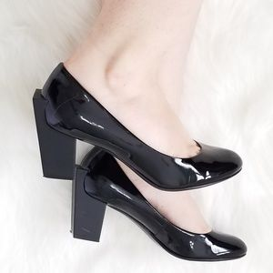 United Nude black closed toe block heels 37 6.5